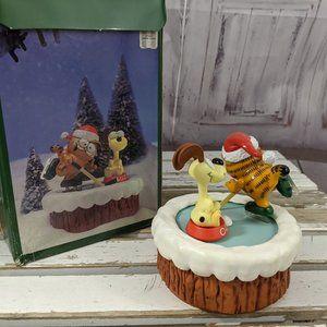 Vintage Enesco Winter Wonderland Garfield Odie Ska
